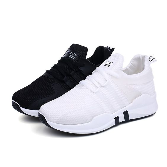 Simple Mesh Sports Shoes - Abershoes