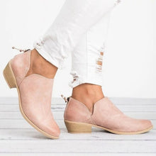 Load image into Gallery viewer, Trendy Pure Color Ankle Bootie Shoes