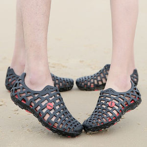 Summer Couples Hollow Out Beach Sandals - Abershoes