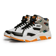 Load image into Gallery viewer, Color Block High Top Sneaker Shoes - Abershoes