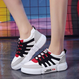 New Arrival Chic White Sneaker Shoes - Abershoes