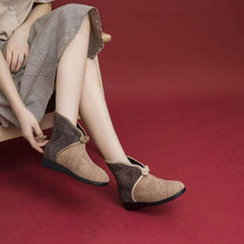 Load image into Gallery viewer, Keep Warm Velvet Cotton Shoes - Abershoes