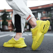 Load image into Gallery viewer, Trendy Pure Color Mesh Breathable Sneaker Shoes - Abershoes