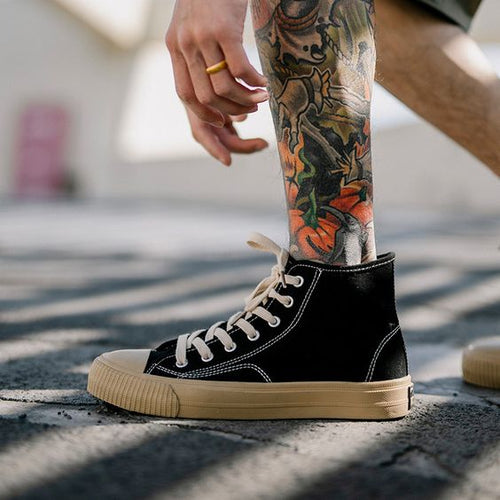Men's Chic Street Style Canvas Shoes