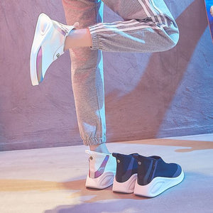 Hip Hop High-Top Sneaker Shoes - Abershoes