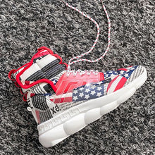 Load image into Gallery viewer, Hot Sale High Top Platform Sneaker Shoes - Abershoes