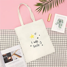 Load image into Gallery viewer, I Will Smile Tote Bag - Abershoes