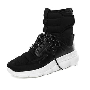High Top Platform Sneaker Shoes - Abershoes