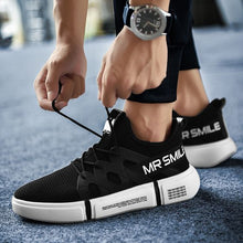 Load image into Gallery viewer, Men's Mr Smile Mesh Breathable Sports Running Shoes - Abershoes