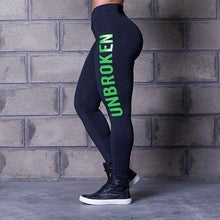 Load image into Gallery viewer, Hot Sale Leather Printed Sports Gym Leggings - Abershoes