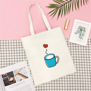 I Will Smile Tote Bag - Abershoes