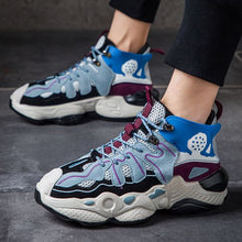 Load image into Gallery viewer, 2019 New Arrival Men's Color Block Dad Sneaker Shoes - Abershoes