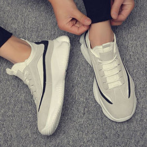 Trendy Summer Style Breathable Dad Sneaker Shoes - Abershoes