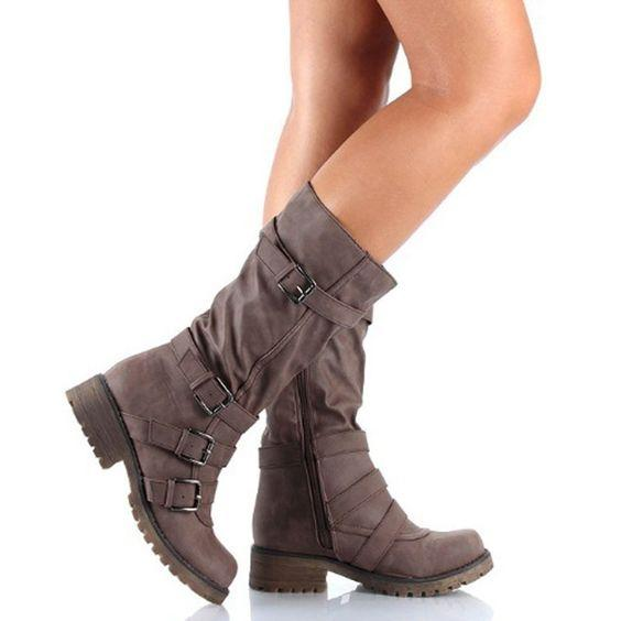 Women's Trendy Long Boots - Abershoes