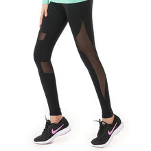 Load image into Gallery viewer, Mesh Panel Gym Sports Leggings - Abershoes