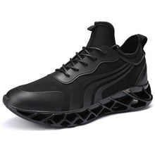 Load image into Gallery viewer, Trendy Design Black Blade Sneaker Shoes - Abershoes