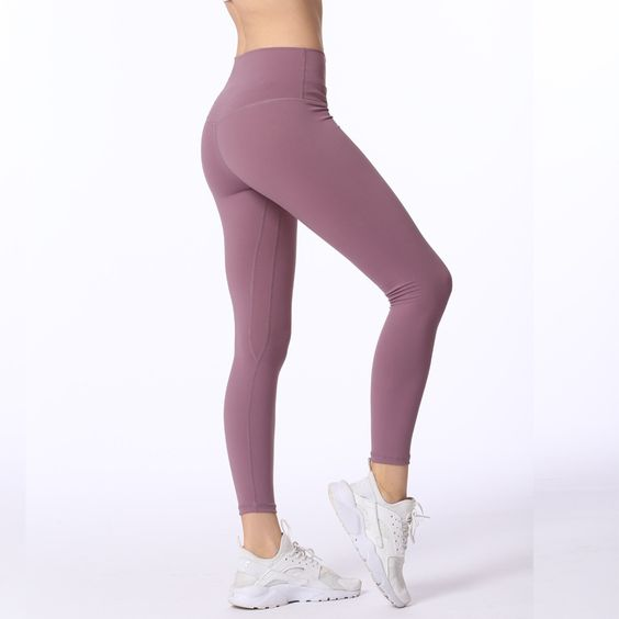 Gym High Waisted Ninth Leggings - Abershoes