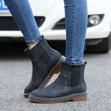 Load image into Gallery viewer, Trendy British Flat Booties - Abershoes