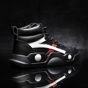 High Top Platform Trendy Dad Sneaker Shoes - Abershoes
