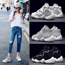 Load image into Gallery viewer, Chic High Top Breathable Dad Sneaker Shoes