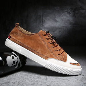 2019 Trendy Summer Style British Leather Shoes - Abershoes
