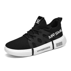 Men's Mr Smile Mesh Breathable Sports Running Shoes - Abershoes