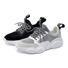 Load image into Gallery viewer, Women's Cute Comfortable Low Cut Mesh Sneaker Shoes - Abershoes