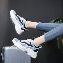 Load image into Gallery viewer, Mesh Breathable Color Block Sneakers - Abershoes