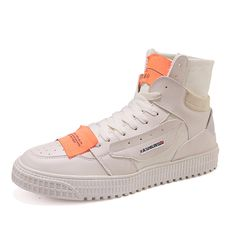 Vintage Canvas Hip hop High-top Shoes - Abershoes