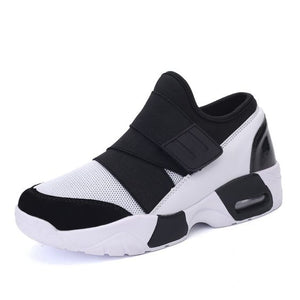 Trendy Couples Mesh Air Sneaker Shoes - Unisex - Abershoes