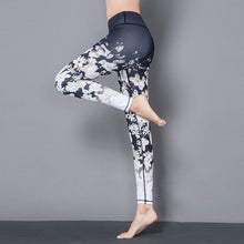 Load image into Gallery viewer, Stylish Yoga Floral Printed Leggings - Abershoes