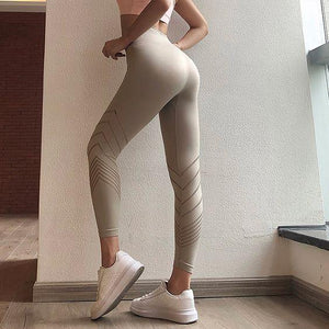 Soft High Waisted Yoga Leggings - Abershoes