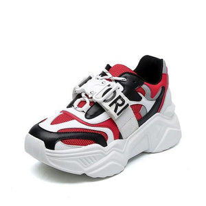 Color Block Dad Sneaker Shoes - Abershoes