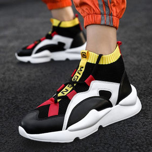 Men's Trendy Dad Sneaker Shoes - Abershoes