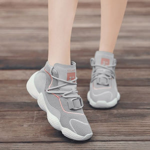 Chic High Top Breathable Dad Sneaker Shoes