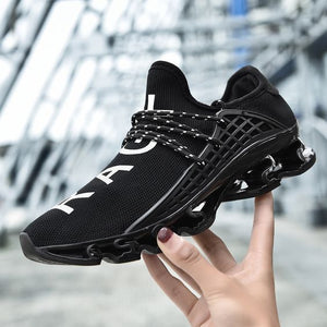 Men's Trendy Blade Design Sneaker Shoes - Abershoes