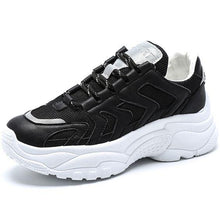 Load image into Gallery viewer, White/Black/Beige Trendy Dad Sneaker Shoes - Abershoes