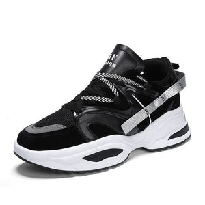 Trendy Color Design Dad Sneaker Shoes - Abershoes
