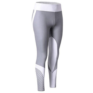 High Waisted Yoga Gym Sports Leggings - Abershoes