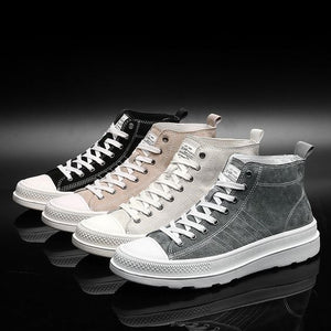 Trendy Retro Leather Shoes - Abershoes