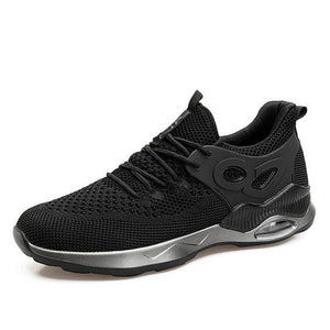 Men's FlyKnit Breathable Running Shoes - Abershoes