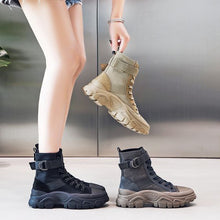 Load image into Gallery viewer, Trendy Style Cool High Top Martin Boots - Abershoes