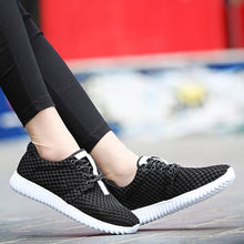 Load image into Gallery viewer, Hollow Out FlyKnit Breathable Sneakers - Abershoes