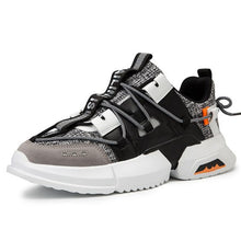 Load image into Gallery viewer, Men's Stylish Color Block Breathable Sneaker Shoes - Abershoes