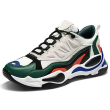 Load image into Gallery viewer, Men's Trendy Color Block Dad Sneaker Shoes - Abershoes