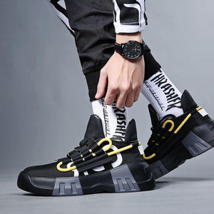 New Arrival Men's Trendy Dad Sneaker Shoes - Abershoes