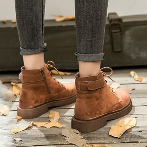Chic British Trend Martin Boots - Abershoes