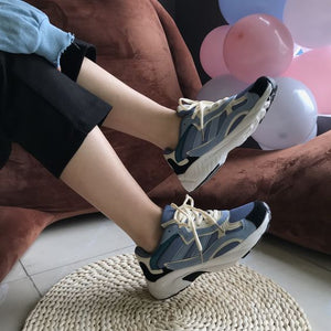 Trendy Lightweight Mesh Running Shoes - Abershoes