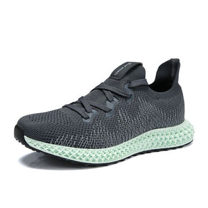 FlyKnit Mesh Breathable Running Shoes - Abershoes