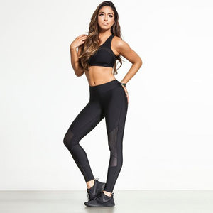 Gym Perforated Seamless Leggings - Abershoes